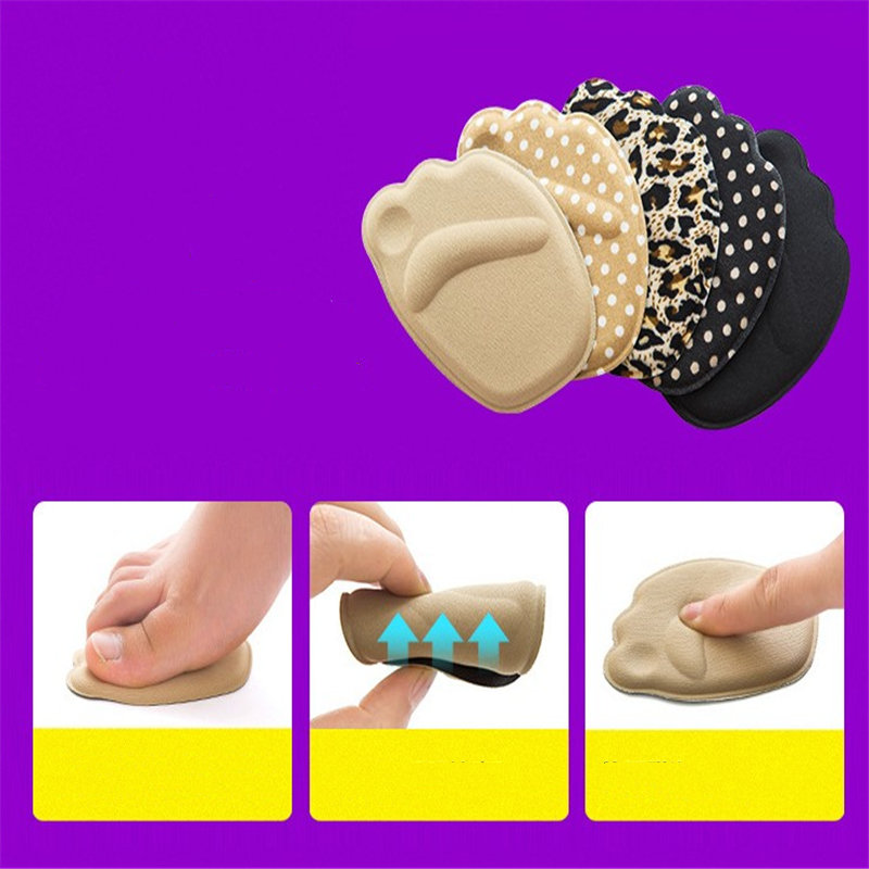 Useful Sole Cushions Forefoot Anti-Slip Insole Breathable High Heel Foot Shoes Women Foot Pad Soft Insert Shoe AccessoriesUseful Sole Cushions Forefoot Anti-Slip Insole Breathable High Heel Foot Shoes Women Foot Pad Soft Insert Shoe Accessories