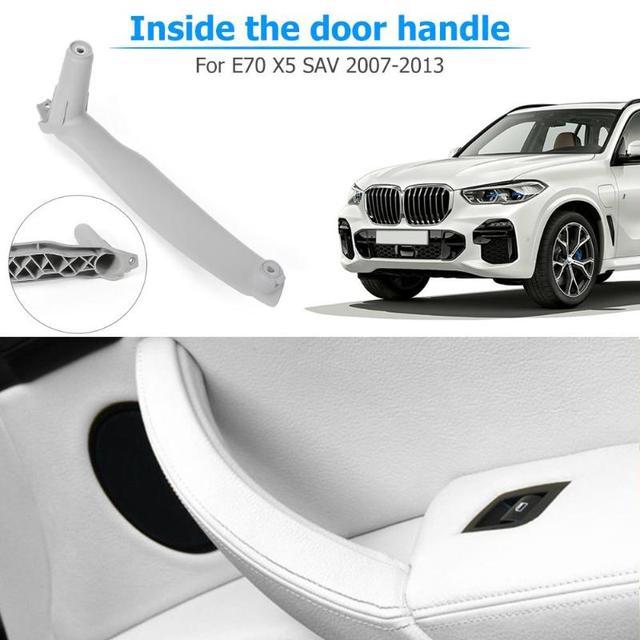 NEW Car Styling Right Left Inner Door Panel Handle Pull Trim Cover Auto Interior Accessories For BMW E70 X5 E71 E72 X6 SAV