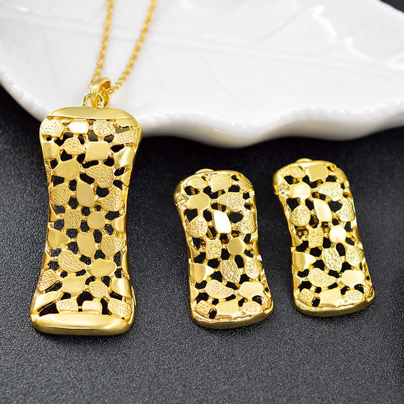 ZEADear Jewelry Classic Jewelry Sets For Women Earrings Necklace Pendant Square Jewelry Set For Party Exquisite Jewelry Findings