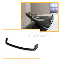 AC Style Rear Wing Spoiler Carbon fiber Cat styling Spoiler for BMW F20 1 Series 116i 118i 125i 2012 2013 2014 2015