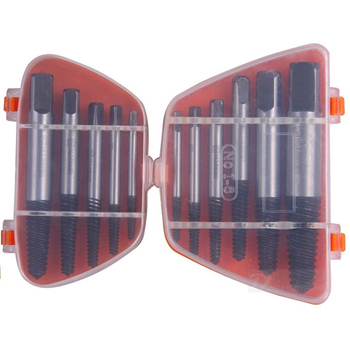 5pc/set 6pc/set Screw Extractors Damaged Broken Screws Removal Tool Used in Removing the Damaged Bolts Drill Bits
