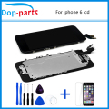 White &Black color LCD Display Touch Screen Digitizer Assembly For IPhone 6 6G 4.7 Inch Free Shipping