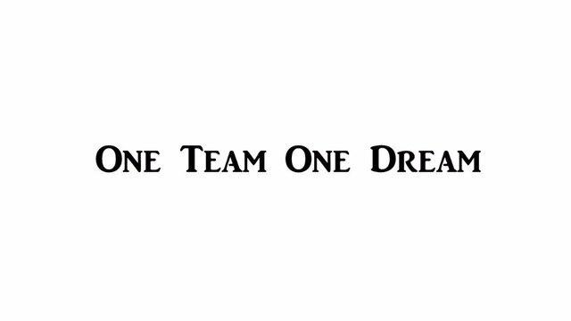Yingkai Jeden Zespół Jedno Marzenie Inspirowane Motywacyjne Cytaty