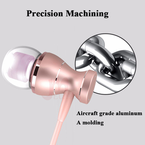 Image 4 - MEUYAG מתכת מגנטי אוזניות ספורט ריצה ב אוזן אוזניות דיבורית אוזניות אוזניות עם מיקרופון סטריאו אוזניות