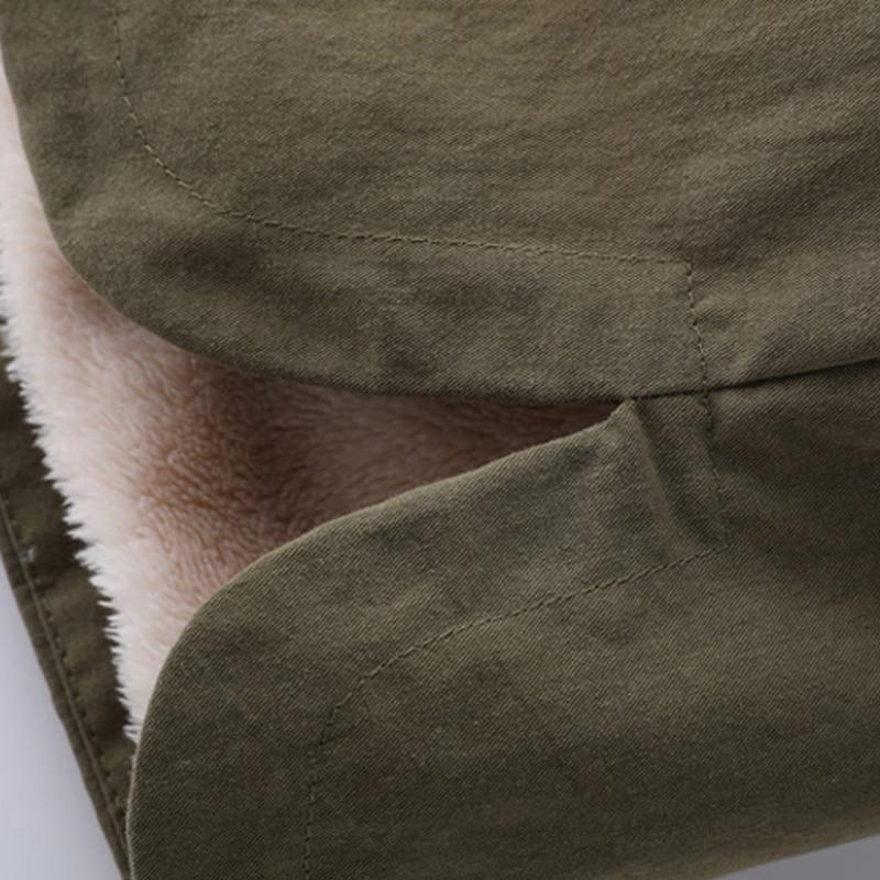 Veste F124 De Armygreen Capuchon big caramel Cachemire 2018 Chaude Solide Nouvelle Red Poche Dame Couleur Coton Colour Épais Moyen Mince À Manteau Hiver Femmes wH4xtU