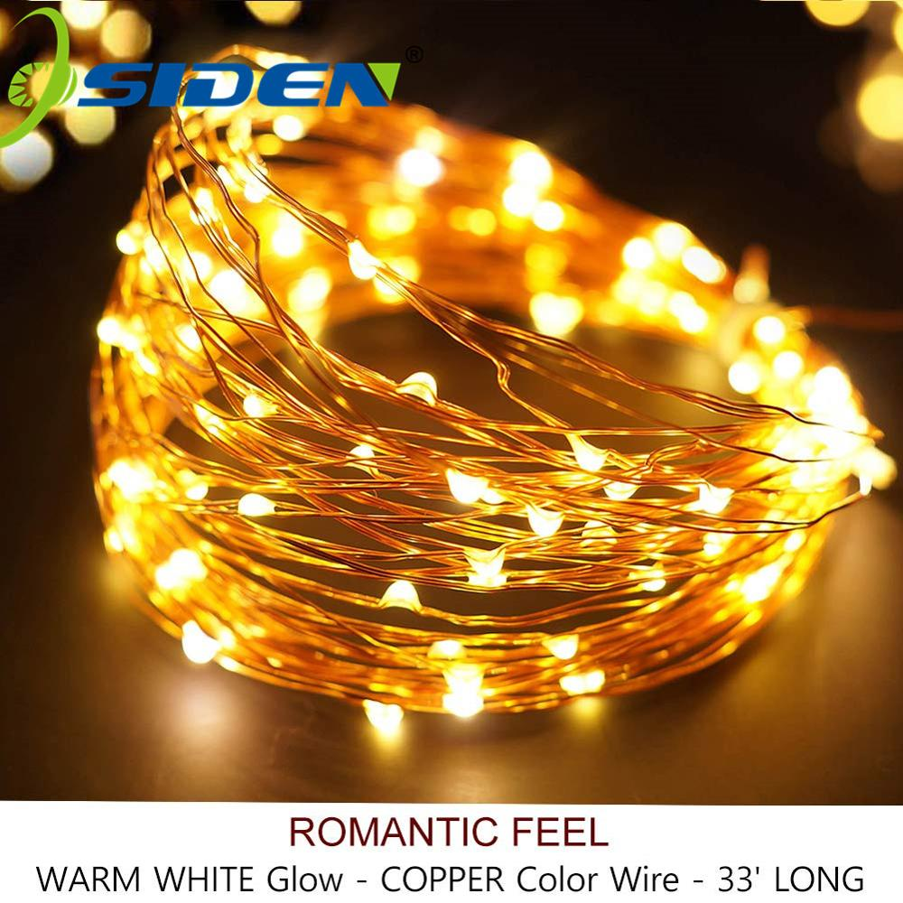 Holiday Light Garland Bottle 3AA Battery USB 8Mode 2M5M10M Christmas XmasParty Outdoor Fairy Solar Lamp Strip String Light