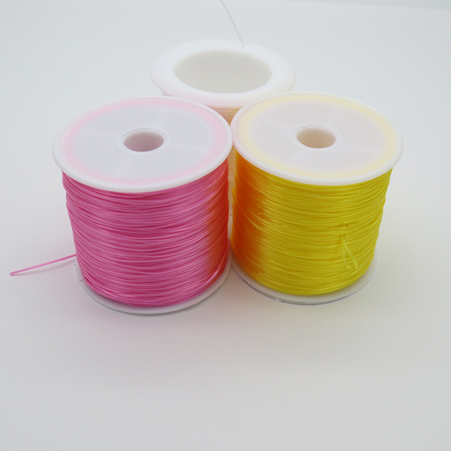 Shou Fa different colors  about 60meters  a roll of rubber line used for slingshot  and Other uses