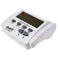 Wit handset display DTMF FSK Caller ID Box met Call Geschiedenis