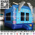 Sea Theme Dolphin Inflatable Bouncy Castle Bounce House for Sale