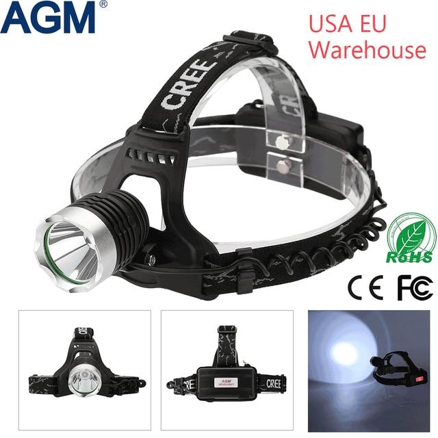 agm headlamp cree xml 1800lm t6 led waterproof 18650 head lamp rh aliexpress com Headlight Dimmer Switch Diagram 1998 Dodge Ram Headlight Switch Diagram