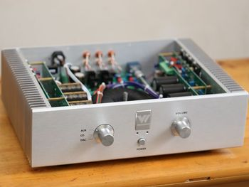 Finished product HiFi home amplifier A5 dual channel 120W front and rear class A combined amplifier