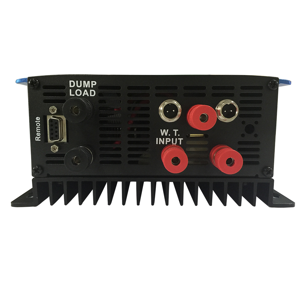 1500W Wind Grid Tie Inverter Pure Sine Wave DC 45-90V AC 180-260V For 3 Phase 48VAC Wind Turbine Dump Load Resistor Fuction micro inverter 600w on grid tie windmill turbine 3 phase ac input 10 8 30v to ac output pure sine wave