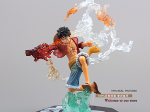 """Image 3 - Free Shipping 7"""" One Piece Monkey D Luffy Battle Ver.  Boxed PVC Action Figure Collection Model Toy Gift OPFG228"""