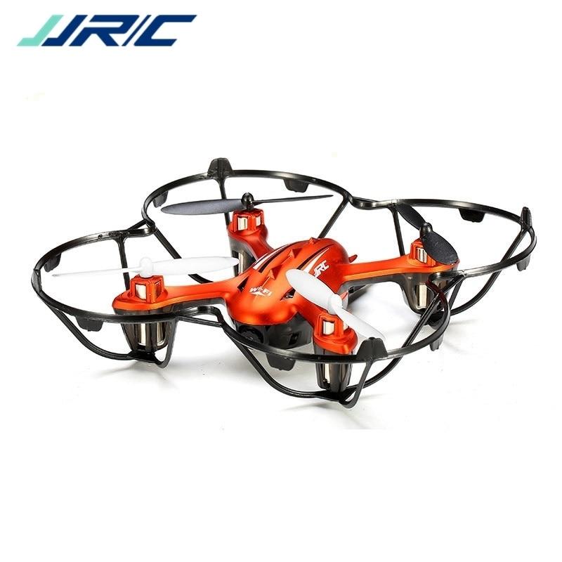 Jjr/c jjrc h6w wifi fpv rc drones com 2mp hd câmera modo headless um retorno chave led quadcopter helicóptero brinquedos rtf vs mjx x600