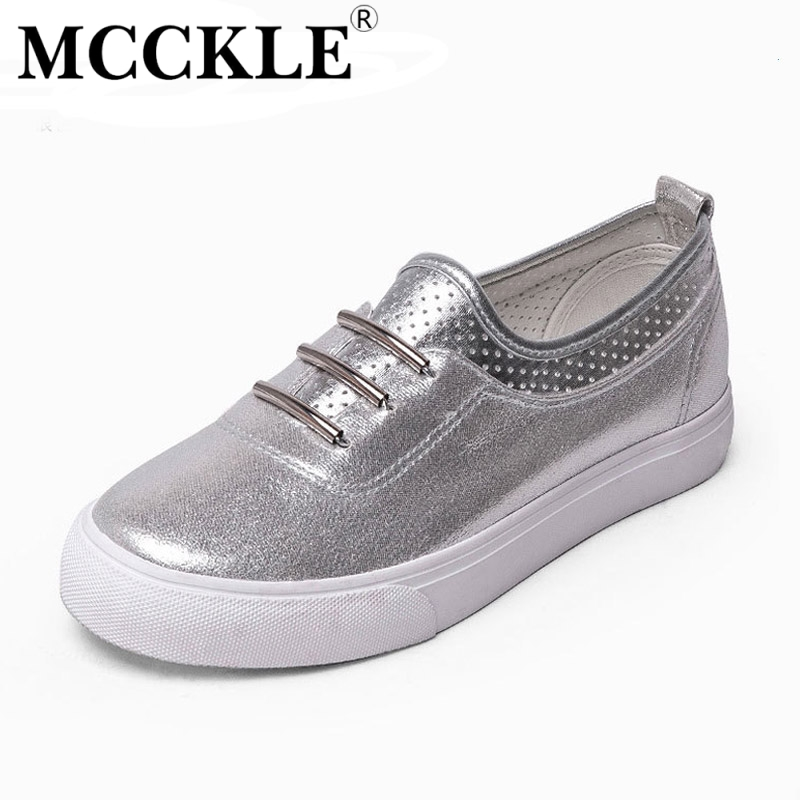 MCCKLE 2017 New Fashion Women Shoes Flat Woman Round Toe Sequined Cloth Platform Ladies Office Black Casual Comfortable станок д бритья gillette venus с 1 кассетой