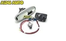 Auto headlight switch+Rain Light Wiper Sensor Anti-glare Dimming Rear View Mirror For Audi A3 8V