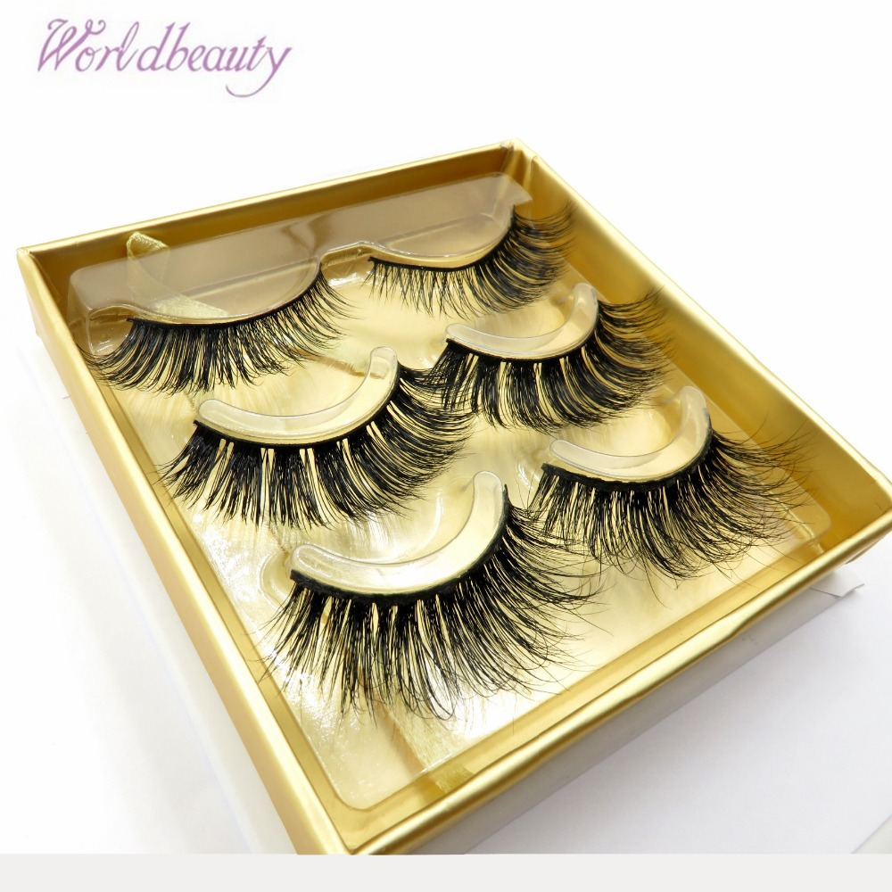FakeLashes Reusable EyeLashes 100% Handmade Siberian 3d Mink Fur False Lashes Strip Lashes Lilly Lashes Miami Individual lashes