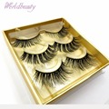 FakeLashes Reusable EyeLashes 100% Handmade Siberian 3d Mink Fur False Lashes Strip Lashes Lilly Lashes Miami Individual lashes