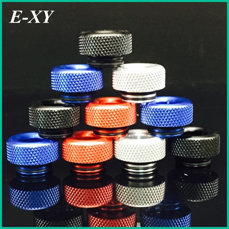 E-XY Aluminio Colores de metal 810 Puntas de goteo boquilla ancha para perros enojados / Kennedy 24 para vape