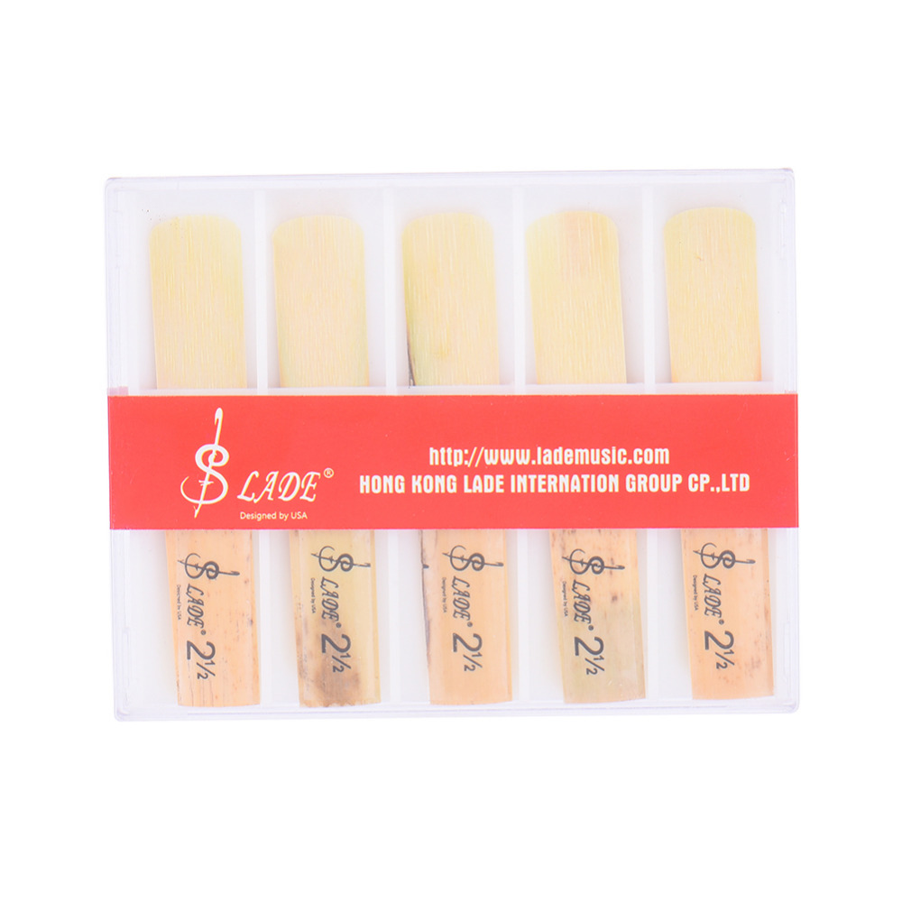 SLADE Natural Color Use Reed Made Clarinet whistle 10pcs ( 1 Set  ) Clarinet Reeds Support Wholesale With Big Discount