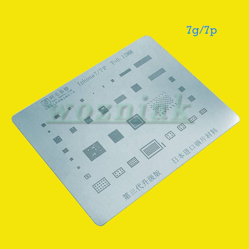 wozniak for iPhonex8g8p7g7p6s6sp6g6p precision plant tin steel net ...