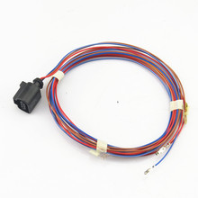 FHAWKEYEQ Car Security Tweeter Speaker Buzzer Horn Harness Cable For VW Golf MK6 Beetle Passat B6