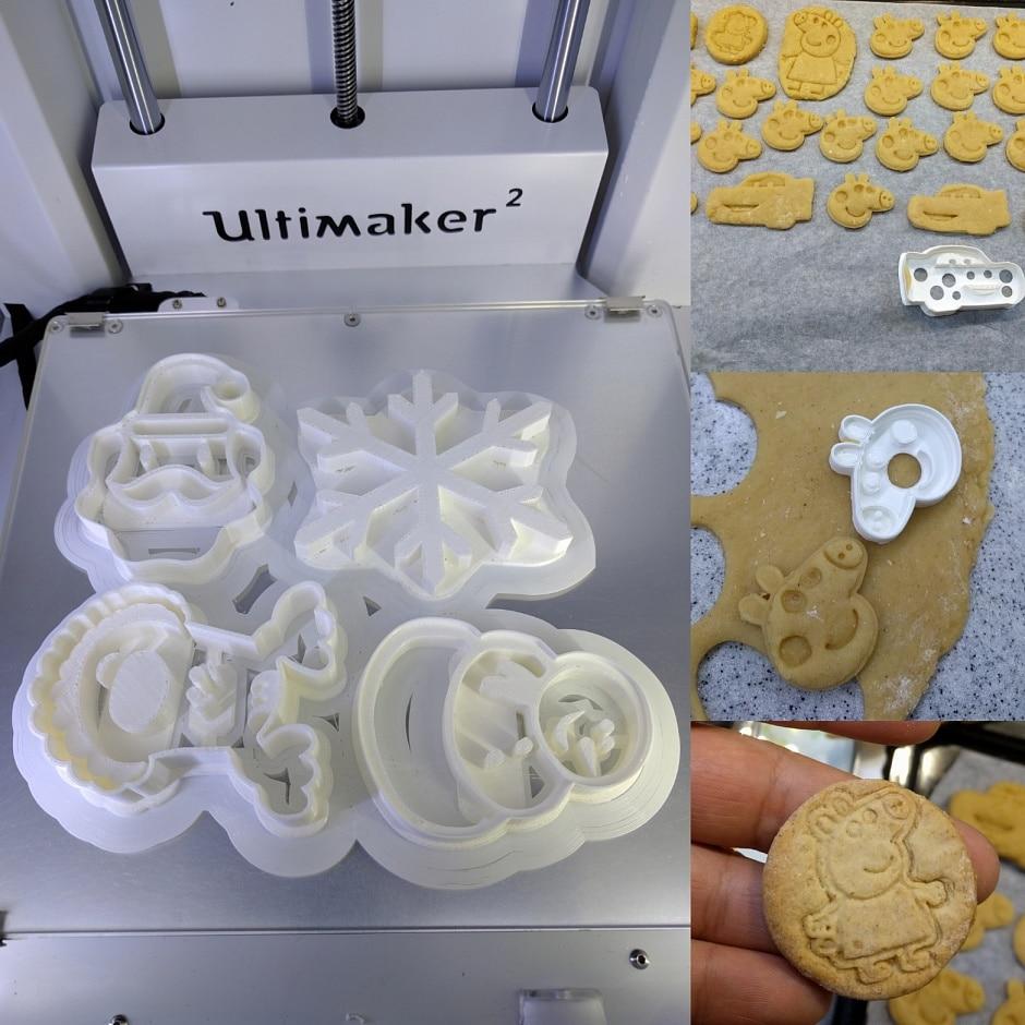 Blurolls Ultimaker 2 Extended + 3D принтер жиынтығы - Кеңсе электроника - фото 4