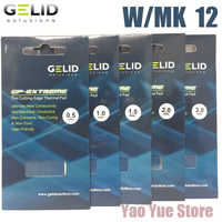GELID GP-EXTREME 80X40 0.5 1.0 1.5 2.0 3.0mm PC CPU GPU dissipateur thermique refroidissement pont nord et sud carte vidéo Pad thermique W/MK 12