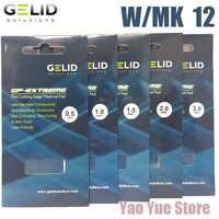 Gelid GP-EXTREME 80x40 0.5 1.0 1.5 2.0 3.0mm cpu gpu dissipador de calor refrigerar ponte do norte e sul placa de vídeo almofada térmica com mk 12