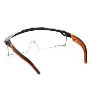 Image 4 - UVEX מגן משקפיים בטיחות משקפי מגן שקוף נגד ערפל נגד השפעה Eyewear עבודת רכיבה נגד חול משקפי עין הגנה