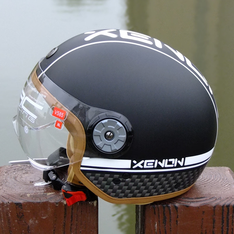 TORC V585 open face motorcycle helmet half face vintage scooter jet DOT approved ABS Shell fashion VESPA Retro helmet M L XL