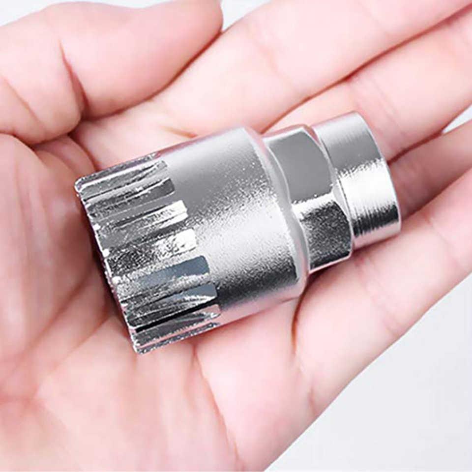 Movimento centrale per bicicletta MTB estrattore per manovella per bici strumento di riparazione del movimento centrale 20 denti adatti riparazione dello strumento diagnostico dei denti