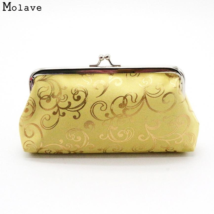 Naivety drop shipping Coin Purse New Womens Small Wallet Coins Pocket Card Holder Clutch Bag AUG18 womens wallet card holder coin purse clutch bag handbag lightweight portable and fashionable with famous brand