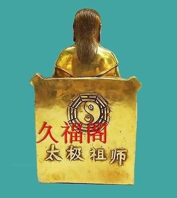 Original Copper Zhang San Feng Sculpture 1