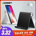 Ugreen del soporte del teléfono para iPhone 8X7 6 plegable soporte para teléfono móvil para Samsung Galaxy S9 S8 Tablet soporte de escritorio soporte de teléfono
