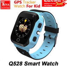 Original Q528 Y21 Touch Screen Kids GPS Watch with Camera Lighting Smart Watch Sleep Monitor GPS SOS Baby Watch PK dz09(China)