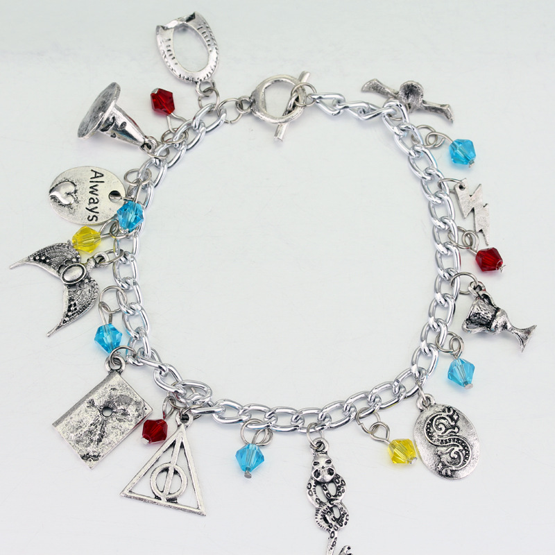 Lord Voldemort Hogwarts Philosopher's Stone Combination Bracelet  Dobby Hogwarts Cos Halloween Cosplay Accessory Holiday Gift