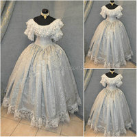 sc 603 Victorian Gothic/Civil War Southern Belle loose Ball Gown Dress Halloween Vintage dresses Custom made