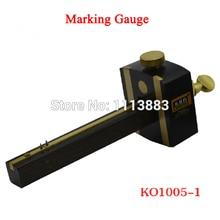 8inch/20cm  British Indonesia Ebony Pure Copper Screw Cutting Gauge Woodworking Mark Scraper Wood Scribers Carpenter Line Tools цены