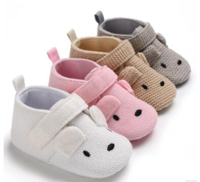 Baby Shoes Bunny Boys Newborn Pink Girls Infant Shoes Prewalkers Crib Shoes Nonslip 2019 New SandQ Baby