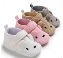 baby shoes bunny boys newborn pink girls infant prewalkers crib nonslip 2019 new SandQ