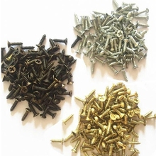 M2 Screws 2*6mm 2*8mm 12000pcs Metal Nails Spikes Clasp Brass Bronze Silver Wooden Box Hinges Door Handwork Packing Accessories