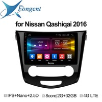 for Nissan Qashqai X Trail 2016 Android Unit Radio Stereo Multimedia Player 1 2 din DVD GPS Navigator Carplay Intelligent System