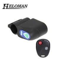 Alarm Bike Lock Waterproof Anti-theft Cycling Security Lock Wireless Remote Control Vibration Alarm
