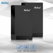 Original Netac K218 External Hard Drive 500GB 1TB HDD USB 3.0 Externo Disco HD Disk Storage Devices for Laptop Desktop Hard Disk