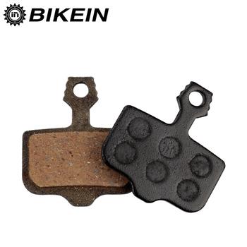 BIKEIN 1 para MTB rower żywica klocki hamulcowe dla Avid eliksir R CR CR-MAG E1 3 5 7 9 Sram X0 XX DB1 3 5 Mountain części rowerowe tanie i dobre opinie BIKEIN Pro P88BP Hydrauliczny hamulec tarczowy (hydrauliczny hamulec pad) Made in China Black 18g pair