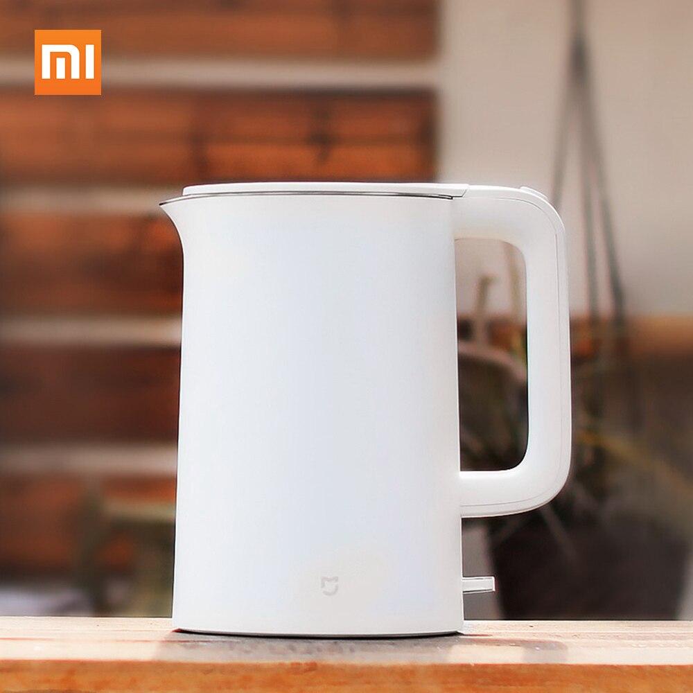 Xiaomi оригинальный 1.5L Электрический чайник воды Авто Мощность защитой от Smart постоянный Контроль температуры воды чайник ручной