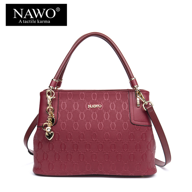 NAWO Fashion Women Tote Bags Sequined Ladies Shoulder Bag Hot Dot Top-handle  Bag Designer Handbags High Quality Sac A Main Femme 7f0e583615c18