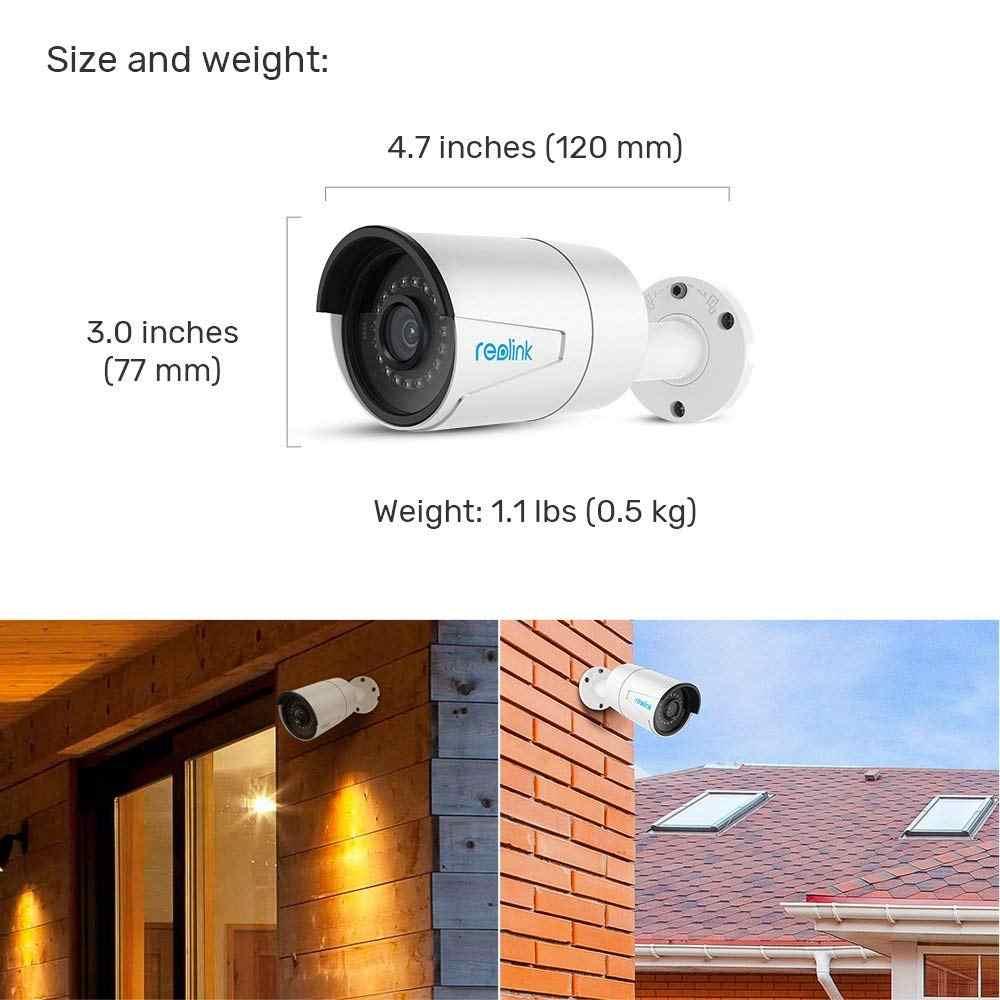 Reolink 4MP IP Система Видеонаблюдения 16ch PoE NVR и 8 PoE IP Уличных Инфракрасных Видеокамер 3 ТБ HDD RLK16-410B8