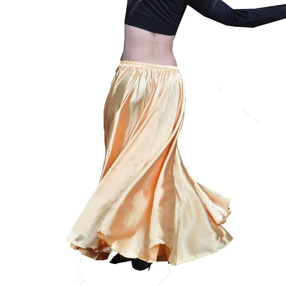 Юбка атласная для танцев